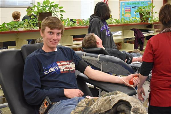 NHS Blood Drive Was a Success
