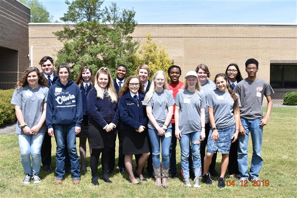 Students Place at FFA Regional Rally