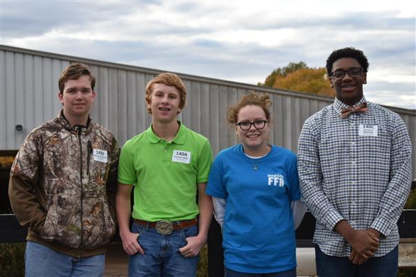 NERSBA FFA Chapter Participates in State FFA Livestock Evaluation Event
