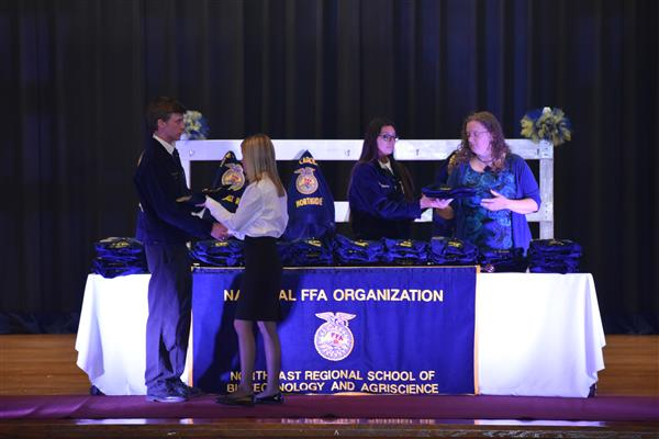 FFA Conducts Jacket Ceremony