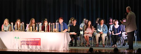 NERSBA Holds NHS Inductions